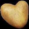 Pellkartoffel-Herz