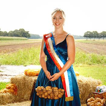 Pellkartoffel Prinzessin 2019 - 2020 Emelie Soltau